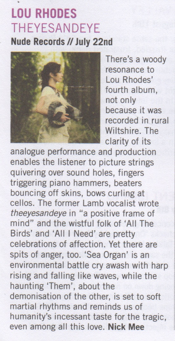 'theyesandeye' reviewed by London In Stereo